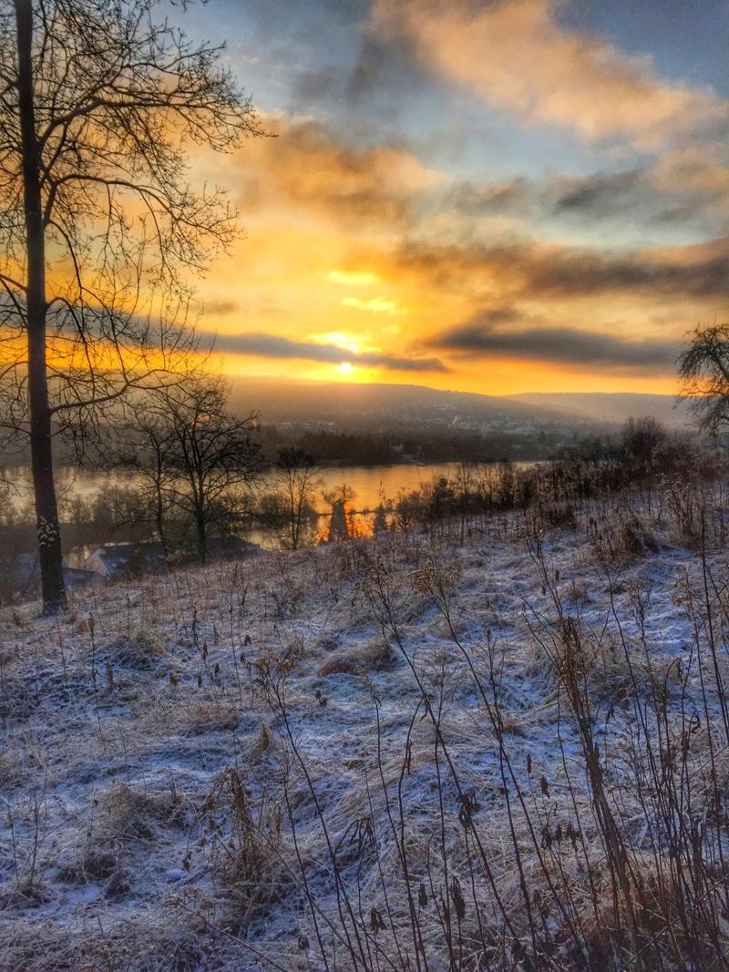 Rolandsbogen Sonnenaufgang Fotografie Kestermann